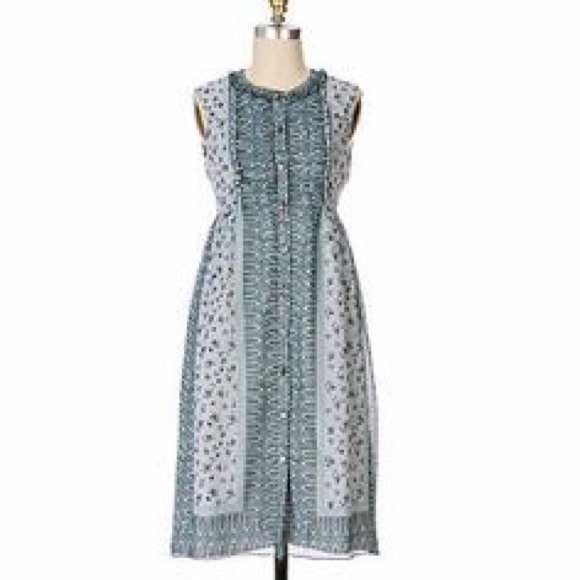 Anthropologie Dresses & Skirts - ANNA SUI x ANTHROPOLOGIE | FLORAL SHIFT DRESS